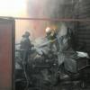 Крупный пожар в Омске оставил 15 человек без жилья