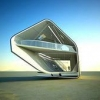 Необычный дизайн-проект дома