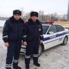 Омские Госавтоинспекторы не дали замерзнуть детям в машине