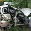 Пьяный водитель на «Toyota» в Омске протаранил «LADA Kalina»