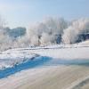 В Омской области штормовое предупреждение из-за гололеда