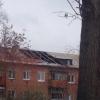 В омской двухэтажке рухнул потолок