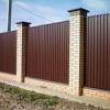 Ограждение территории, панельный забор от компании Велтабудсервис