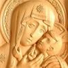 Удивительная благодать исходит от резных икон Павла Минина