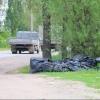 Благодаря Фадиной в Омске убрали мешки с мусором