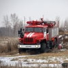 В Омске прошёл биатлон на пожарных машинах