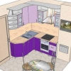 Планировка кухни - рекомендации по удобному обустройству