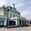В Омской драме выступил Юрий Ицков