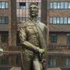 В Омске на улице Багратиона установили двухметровую статую полководца