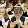 Омским школьникам помогут учиться лучше с помощью молока
