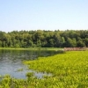 Омичи убрали мусор на озере Ленево