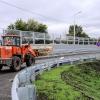 Новый мост через железнодорожные пути оснащен лифтами для маломобильных омичей