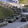 Морские пехотинцы ВМС Украины ожидают штурма своей базы в Крыму