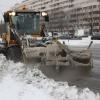 Уборка омских улиц не прекращалась в новогодние каникулы