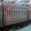 Омская полиция сняла с поезда пьяную дебоширку, ехавшую с ребенком
