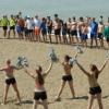 Жара не помешала омским пляжным волейболистам