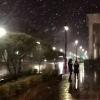 Омичи активно снимали первый снег на Покров