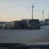 Рабочая неделя в Омске началась с очередной аварии на мосту 60-летия ВЛКСМ