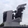 Омские дорожники приводят прилегающие к памятникам территории в порядок к 23 февраля