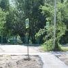 В Омске тротуары к детсадам и школам отремонтировали на 70%