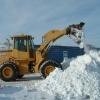 Вывезли 10 КамАЗов снега  из одного только переулка