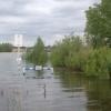 Кировский округ Омска защищает себя от паводка