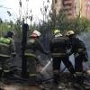 Во время дождя в Омске горели сараи