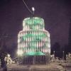 Сквер у омской мэрии украсят светящимися арками