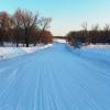 Шестая ледовая переправа открыта в Омской области