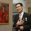 Юбилейная выставка Амангельды Шакенова открылась в Омске
