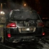 За сутки на Левобережье Омска сгорели три автомобиля