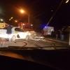 В Омске BMW разбилось об Яндекс-такси