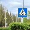 В центре Омска на пешеходном переходе сбили девушку