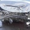 Три иномарки столкнулись в Омске, пострадали три человека