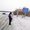Грузоподъемность Большереченской ледовой переправы снизили до 10 тонн