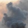 Ночью в Омске почти полностью сгорели два дома