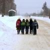 Юным омичам напомнили, что они могут не ходить по морозу в школу