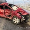 В ДТП на омском путепроводе пострадали пять человек