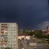 И вот прошла гроза над Омском (фото)