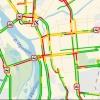 На дорогах Омска сохраняются многокилометровые пробки