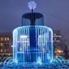 В Омске «забил» светодиодный водопад