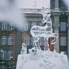 Напротив мэрии Омска изо льда построят козу с козленком