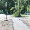 Мэрию через суд заставили сделать тротуар у омской гимназии
