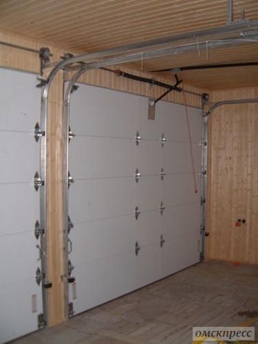 секционные гаражные ворота Симферополь