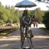 В Омске нашлась пропавшая скульптура влюбленных