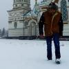 Омичи обсуждают видеоклип про вчерашний снег, снятый на улицах города