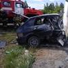 На трассе в Омской области мужчина за рулем «ВАЗа» разбился о пост ДПС