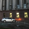 Начинающий водитель протаранил здание ФСБ Омска