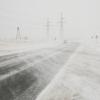 В Казахстане из-за аномального холода закрыли участок трассы