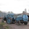 В селе Новоильиновка Омской области тракторист задавил мужчину